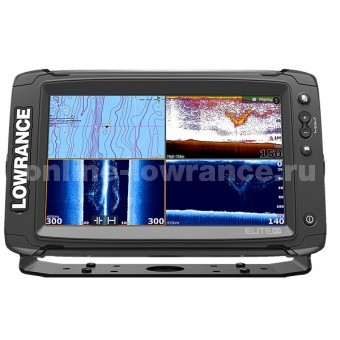 Эхолот Lowrance Elite-9Ti Mid/High/TotalScan